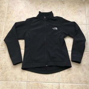 North Face soft shell jacket